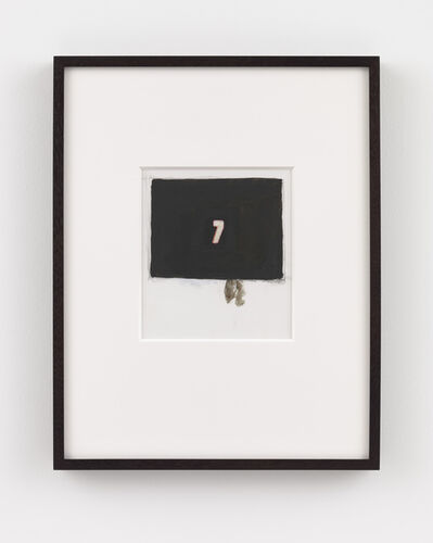 Luc Tuymans, 'Small Numbers (7)', 2020
