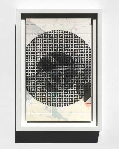 Nina Tichava, 'Circle, Black, Study No.73', 2018