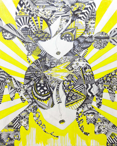 NUKUMIZU MAYA, 'YELLOW TWINS', 2009