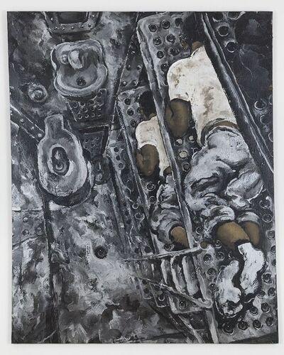 Martin Wong, 'Prison Bunk Beds', ca. 1988