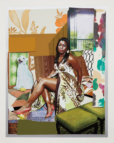 Mickalene Thomas, 'I've Been Good to Me', 2015