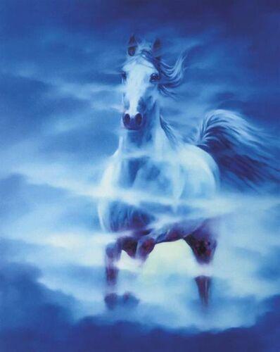 Ma Dongmin, 'Blue Horse Aspire', 2016-2017