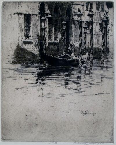 Jan Vondrous, 'Venezia', 1914