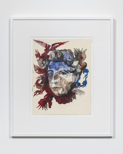 Shahzia Sikander, 'Portrait of Adrienne Rich: Diving into the Wreck', 2019