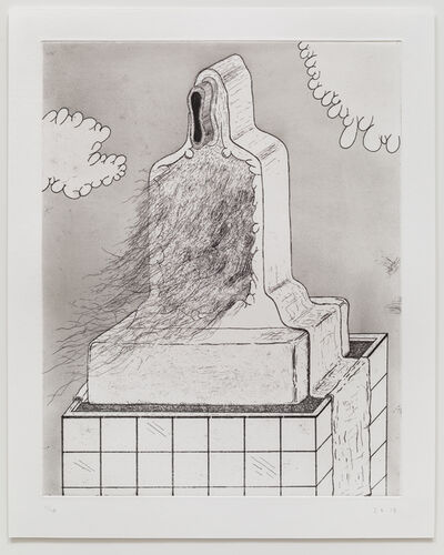 Zachary Leener, 'Five Etchings (Skyscraper)', 2015