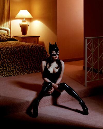 Albert Watson, 'Breaunna in Cat Mask', 2001