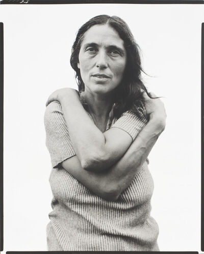 Richard Avedon, 'June Leaf, Sculptress, Mabou Mines, Nova Scotia,  July 18', 1975