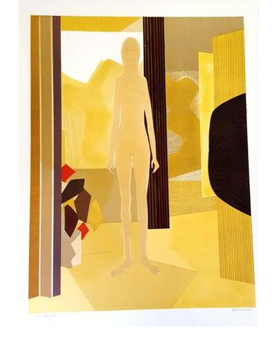 """André Minaux, 'Original Lithograph """"Woman"""" by André Minaux'"""