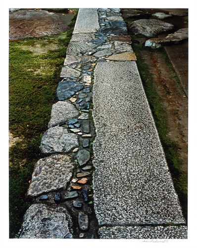 Yasuhiro Ishimoto, 'Formal Stone Pavement in front of the Waiting Bench, Viewed from the South', 1981-1982