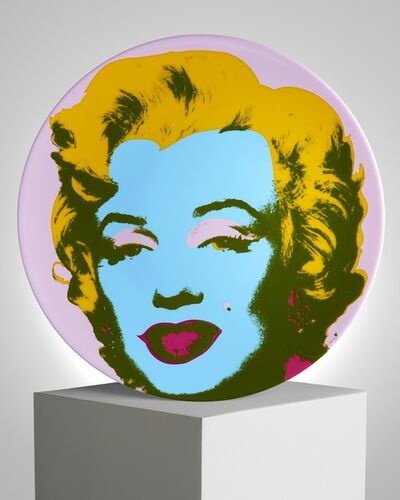 "Andy Warhol, '""Purple Marilyn"" Porcelain Plate', ca. 2019"