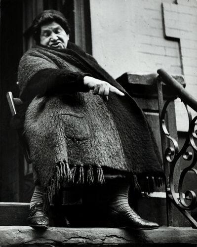 Lisette Model, 'NY Lower East Side Woman', 1942