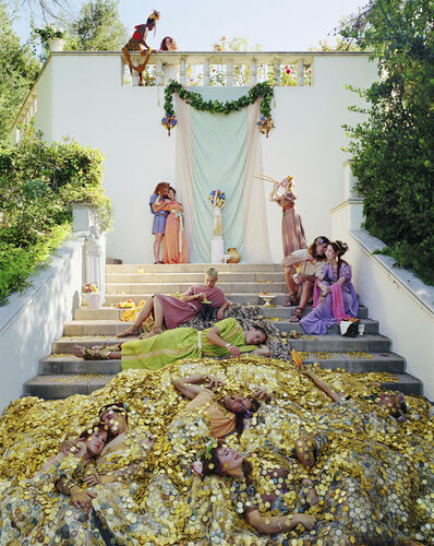 Eleanor Antin, 'The Golden Death', 2001