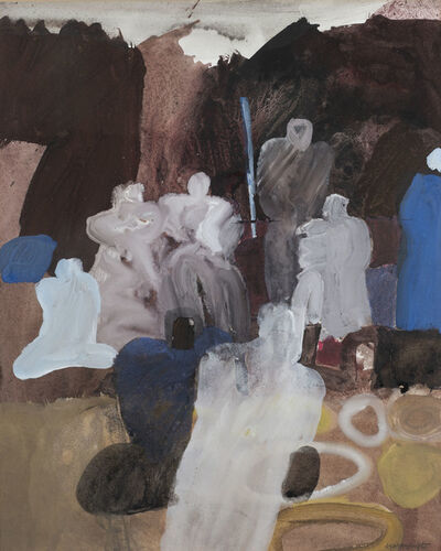 Keith Vaughan, 'Arab Market', 1965