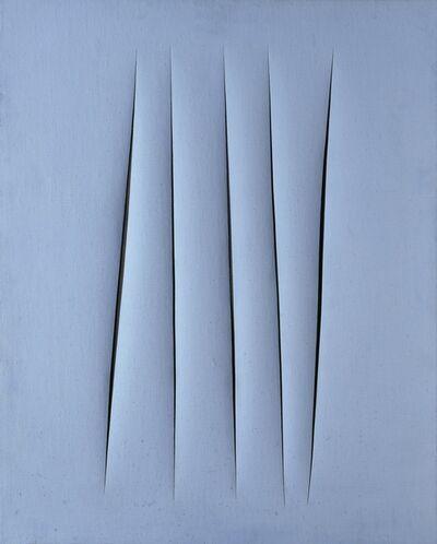 Lucio Fontana, 'Concetto Spaziale, Attese (Spatial Concept, Expectations)', 1967