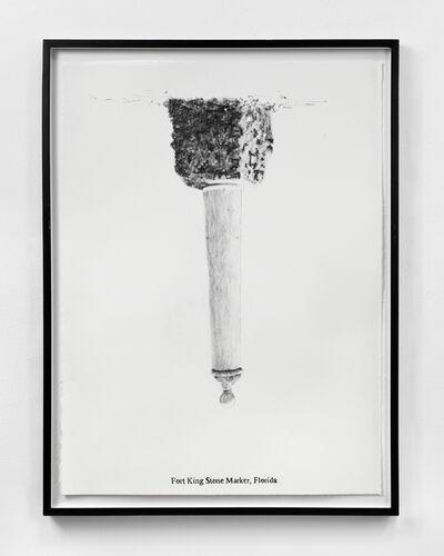 Sam Durant, 'Fort King Stone Marker, Florida', 2005