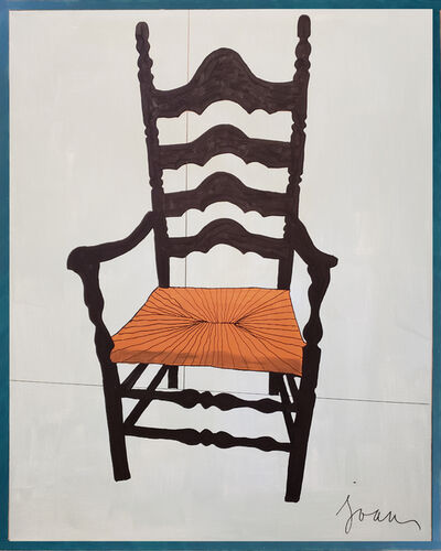 Joan Burmeister, 'Chair V (Wood with Wicker Seat)', 2018