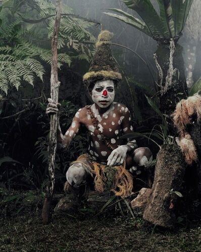Jimmy Nelson, 'Goggle Boy, Goroka, Eastern Highlands XV 59 (4/6)'