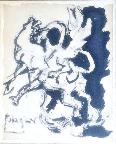 Jacques Lipchitz, 'Study for Bull and Condor (From the Collection of Helena and Ladislas Segy)', 1964