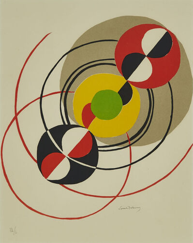 Sonia Delaunay, 'Spoutnik', 1976