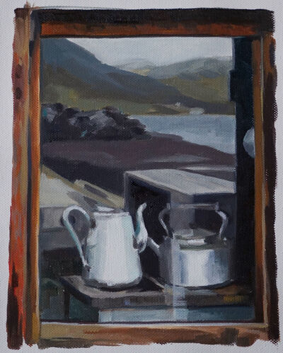 Maria and Natalia Petschatnikov, 'Iceland - Window, Milk Jug', 2019