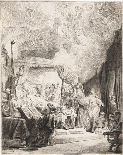 Rembrandt van Rijn, 'The Death of the Virgin', 1639
