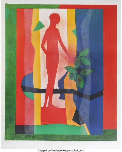 André Minaux, 'Au jardin', circa 1970