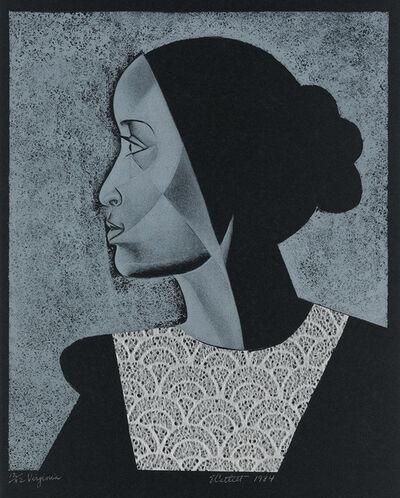 Elizabeth Catlett, 'Virginia', 1984