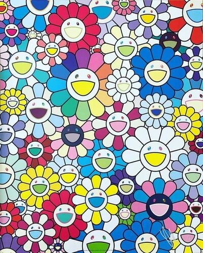 Takashi Murakami, 'A Field of Flowers Seen from the Stairs of Heaven', 2019