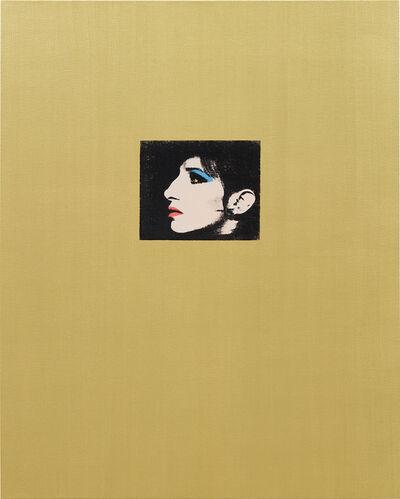 Deborah Kass, 'Gold Barbra (Jewish Jackie Series)', 1992