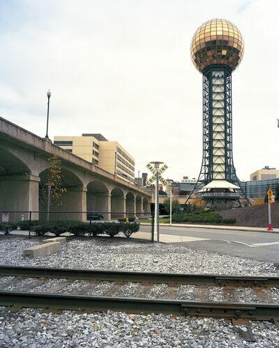 "Jade Doskow, 'Knoxville 1982 World's Fair, ""Energy Turns the World,"" Sunsphere', 2010"