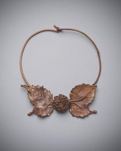 Claude Lalanne, 'Globe Ameranth Leaf Necklace', 2013-2015