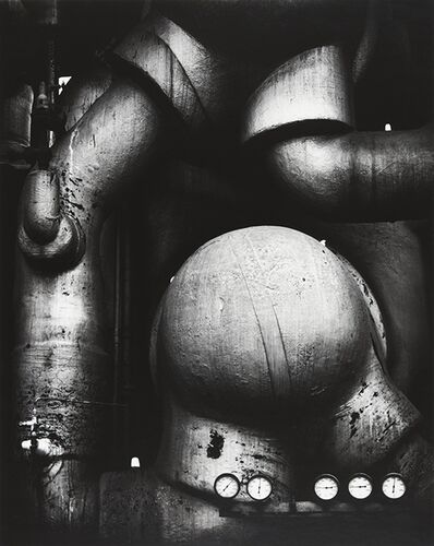 Ansel Adams, 'Pipes and Guages', 1938