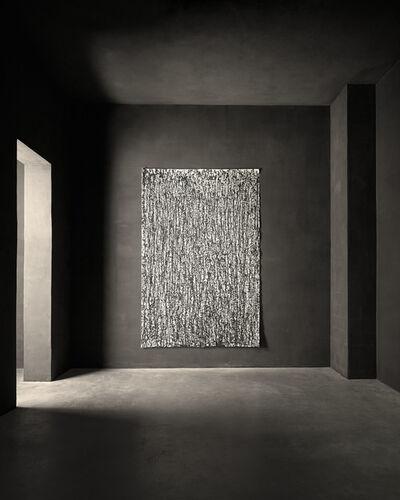 Günther Uecker, 'Regen (14)', 1999