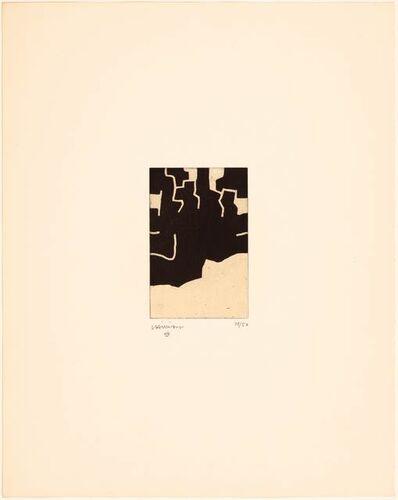 Eduardo Chillida, 'Adikaitz', 1970