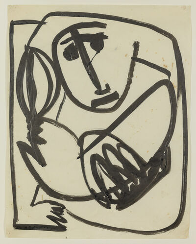 Anthony Caro, 'Baby with a Ball', 1954