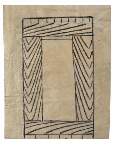 Martín Ramírez, 'Untitled (Frame)', 1960-1963