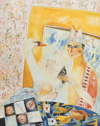 John Bellany R.A., 'The Swan Holds The Key To Sensuality', 1985