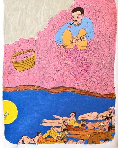 Soufiane Ababri, 'Bedwork CXIV', 2020