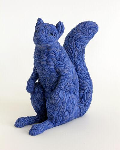 Lindsay Pichaske, 'Blue Squirrel', 2021