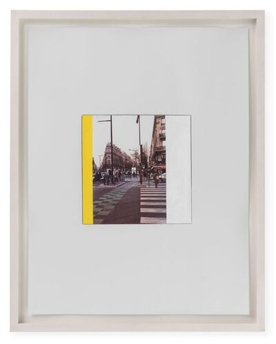 Ian Wallace, 'Study for Intersection, Paris (January 27, 2007) II', 2007