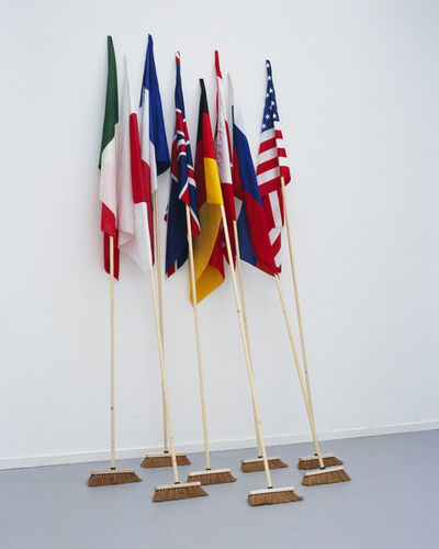 Mounir Fatmi, 'G8: The Brooms (Contamination)', 2008