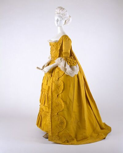 Unknown British, 'Dress', ca. 1760