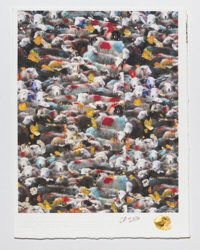 Conrad Atkinson, 'The Golden Fleece: The Cumbrian Wallpaper', 2011