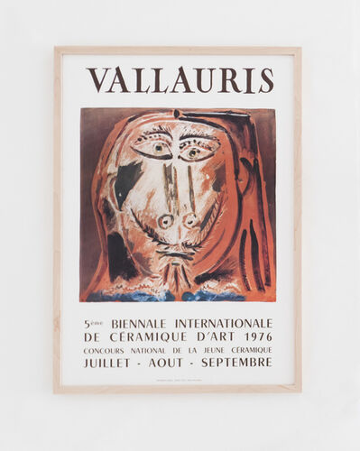 Pablo Picasso, 'Vallauris 5ème Biennale Internationale de la Céramique d'art 1976', 1976