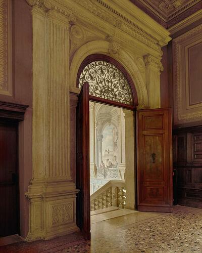 Michael Eastman, 'Mural in Stairwell, Rome'
