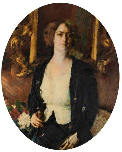 Giacomo Balla, 'Ritratto della signorina Burba', 1920
