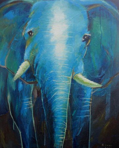 Irwan Guntarto, 'Blue Elephant', 2016