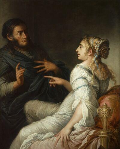 Salvator Rosa, 'Phryne and Xenocrates'