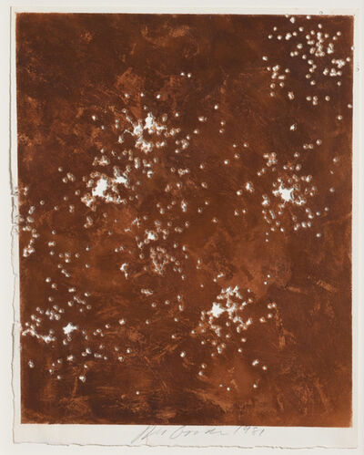 Joe Goode, 'Shotgun (Environmental Impact Drawing #16)', 1981