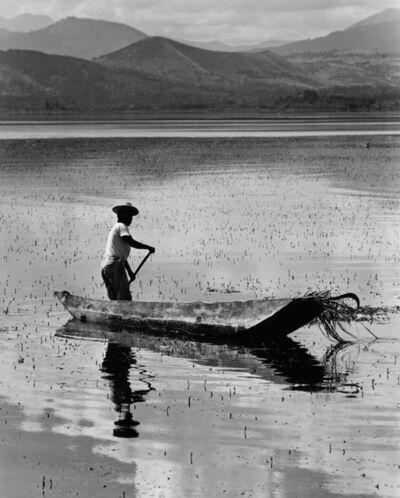 Rodrigo Moya, 'Solitario, Lago Pátzcuaro, México', 1970